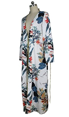 LUKYCILD-Women-Open-Front-Floral-Print-Long-Kimono-Cardigan-Coat-Beach-Cover-Up