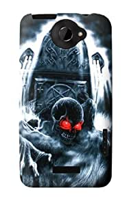 S0297 Zombie Dead Man Case Cover for HTC ONE X