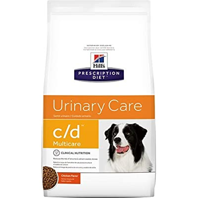 Hill's Prescription Diet c/d Multicare Urinary Care Chicken Flavor Dry Dog Food 17.6 lb
