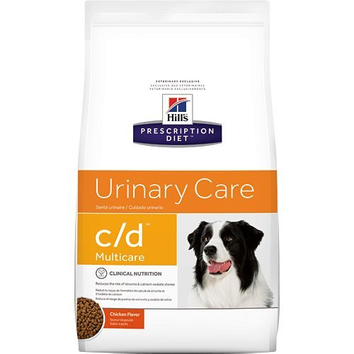 Hills Prescription Diet c/d Multicare Urinary Care Dry Dog Food 27.5 lb by Hill's Pet Nutrition