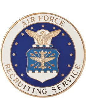 AF-803, Air Force Recruiting Badge, Basic, Regular ()