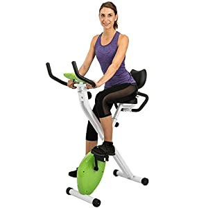 AuWit Magenetic Exercise Bike w/Multi Level Tension Control Adjustable Resistance LCD Screen Easy Storage Fitness Machine