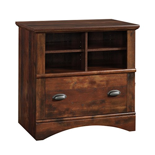 Traditional Cabinet Cherry Bookcase (Sauder 422114 Harbor View Lateral File, L: 31.97