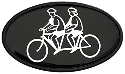 Tandem Bicycle Trailer Hitch Cover 2""