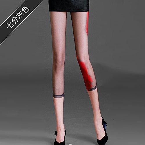 GaoXiao tissus à point de gaze, slips, les pantalons, neuf paires de pantalons, de sécurité pantalon et lumière preuve pantalon,m sept points gris