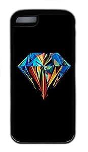 IMARTCASE iPhone 5C Case, Brilliant Diamond Durable Case Cover for Apple iPhone 5C TPU Black