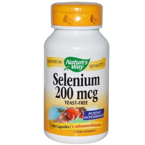 Nature's Way Selenium, 100 Capsules (Pack of 2) ()