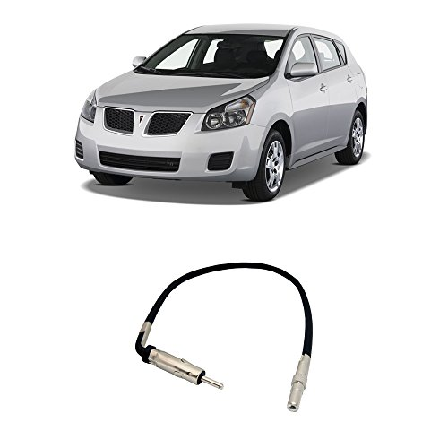 - Fits Pontiac Vibe 2009-2010 Factory Stereo to Aftermarket Radio Antenna Adapter Plug