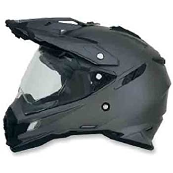 AFX FX-41DS Solid Helmet , Gender: Mens/Unisex, Helmet Type: Offroad Helmets, Helmet Category: Offroad, Distinct Name: Frost Gray, Primary Color: Gray, ...