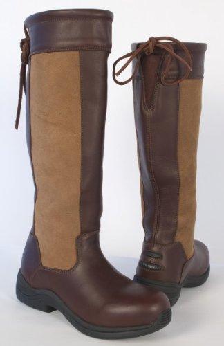 42 Long Boot Size Chestnut Blenheim Riding 8 Toggi In EU Brown Country Waterproof 7ztXqqn