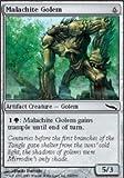 Magic: the Gathering - Malachite Golem - Mirrodin