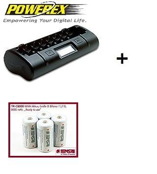 Cargador Powerex MH-C808M - Carga cualquier combinación de 1 ...