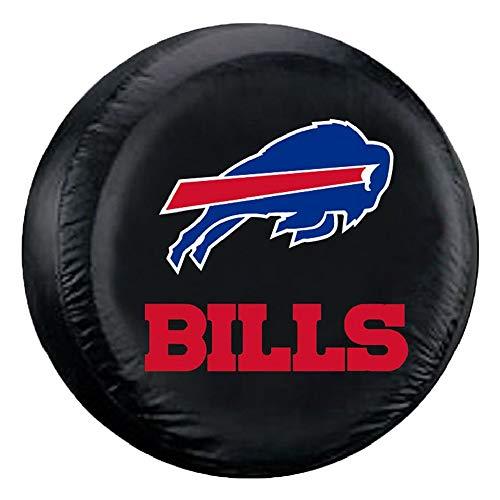 (Fremont Die NFL Buffalo Bills Unisex Tire Coverbuffalo Bills Tire Cover Black, Standard Size )