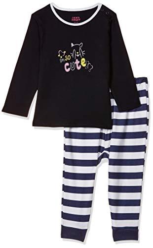 Amazon Brand – Jam & Honey Baby Girl's Overalls