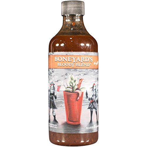 Boneyard's Bloody Mary Mix Spicy Blend | 16 Oz Bloody Mary Concentrate & Marinade