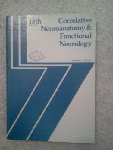 Correlative neuroanatomy & functional neurology