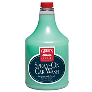 Griot's Garage 11065 Spray-On Car Wash - 35 oz.