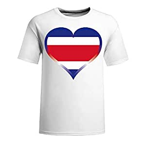 Brasil 2014 FIFA World Cup Mens Football Background Short Sleeve Cotton T-shirt for Fans