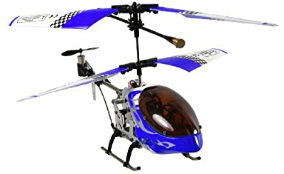 Sky Invaders Metal Frames Series 3 Channel Mini Helicopter Colors May Vary from DMA, Incorporated (Toys)