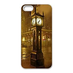 Durable Hard cover Customized TPU case London 7 iPhone 4 4s Cell Phone Case White