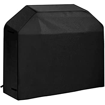 VicTsing Gas Grill Cover Heavy Duty Waterproof BBQ Cover with Velcro Secure Straps for Brinkmann, Char Broil, Holland and Jenn Air ( Medium 58-Inch, 600D Oxford Fabric)