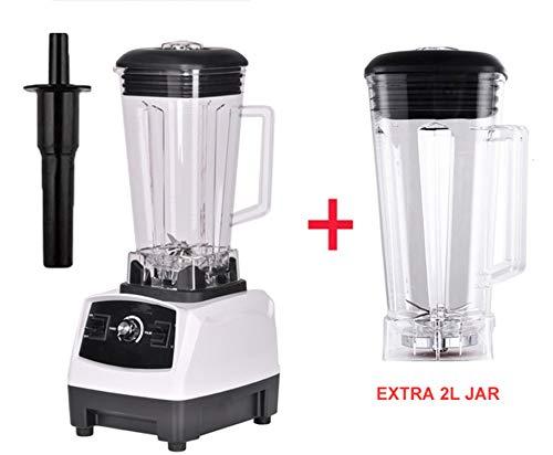 HEARTLIFE 2200W 2L grade home professional smoothies power blender food mixer juicer food fruit processor,WHITE EXTRA 2L JUG,AU Plug