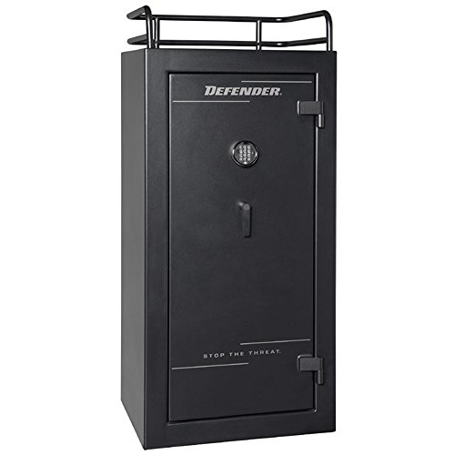 Winchester Defender 25 Gun Safe- Black with Dial Lock