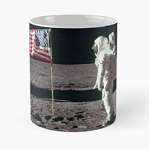 - Astronaut Astronauts Buzz Aldrin Lunar Module Pilot Pilots Space Moon Moons Land - Best 11 oz Coffee Mug Cheap Gift