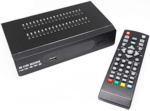 YXF Adaptador HD MPEG 4 H2.64 Digital ATSC sintonizador de TV for los Canales de Aire de Salida de vídeo por componentes HDMI 1080P, Trajes for Canadá, México/Estados Unidos: Amazon.es: Hogar