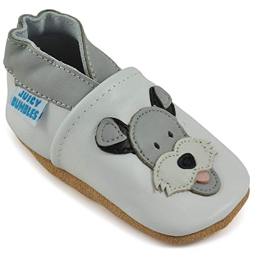Toddler Shoes - Soft Leather Toddler Boy Shoes with Suede Soles