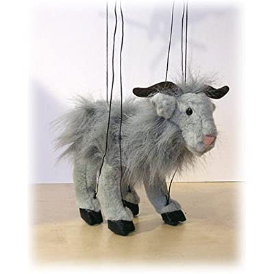 Sunny Puppets Grey Baby Goat Marionette: Toys & Games