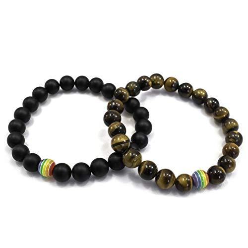 flat gem bracelet - 4