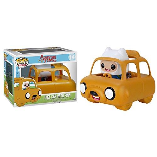 Funko Pop Rides  Adventure Time Jake Car   Finn Action Figure