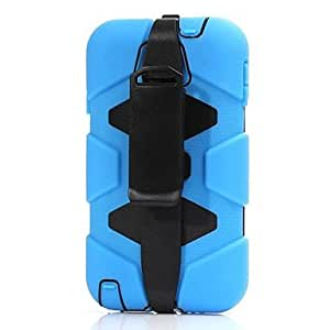 LHY Military Heavy Duty Case Cover with Clip for Samsung Galaxy Note 3 N9000 , Blue