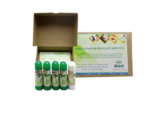 Control Perfume - Appetite Control Inhaler 4 units pack FREE one inhaler of Head Clear