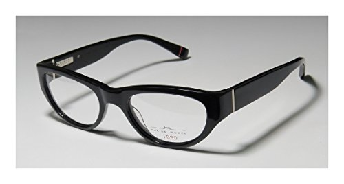 Marius Morel 1880 1970m MensWomens Ophthalmic Popular Design Designer Full-rim EyeglassesEyeglass Frame (50-19-135 Black)