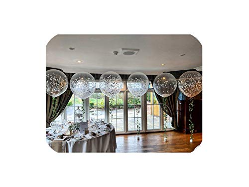 10Pcs 36 Inch 25G Big Round Latex Balloons Transparent Clear Giant Wedding Balloons Birthday Christmas Party Decorations -
