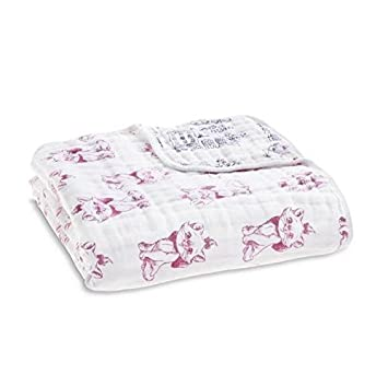 739dc3eca9e5 aden + anais The Aristocats Disney Baby Dream Blanket  Amazon.co.uk  Baby