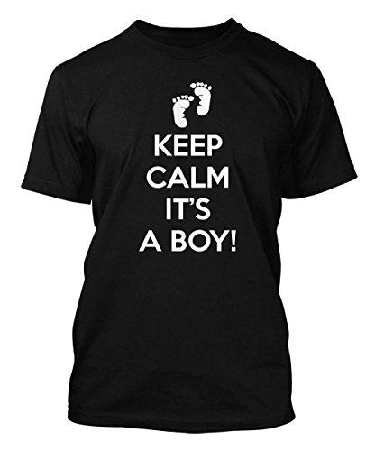 Keep Calm It's A Boy Men's T-shirt