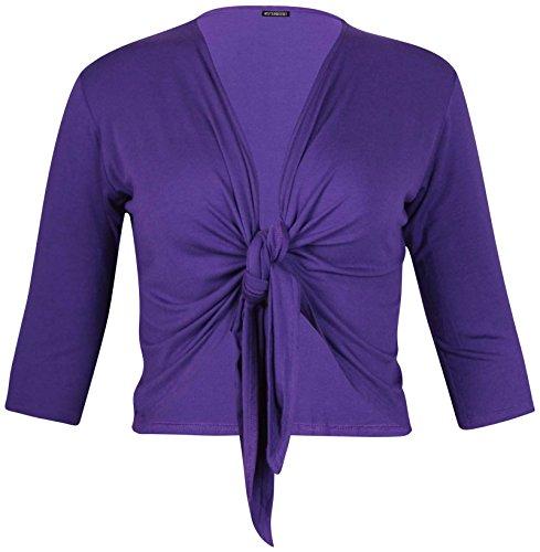 Femme Hanger Court Cardigan Bol Purple wtf6dqw