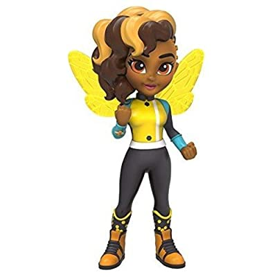 Funko Girls Rock Candy: DC Super Hero-Bumble Bee Action Figure: Funko Rock Candy:: Toys & Games