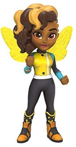 Funko Girls Rock Candy: DC Super Hero-Bumble Bee Action Figure]()
