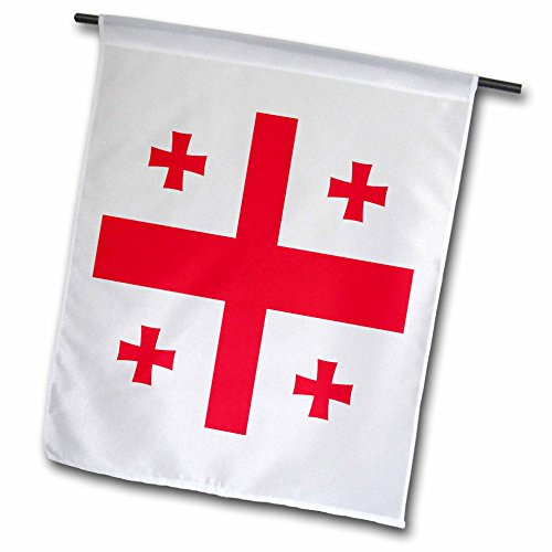 InspirationzStore Flags – Flag of Georgia – Georgian Red Jerusalem Crusaders Cross on white – crosslets – St George – world – 18 x 27 inch Garden Flag (fl_158284_2) Review