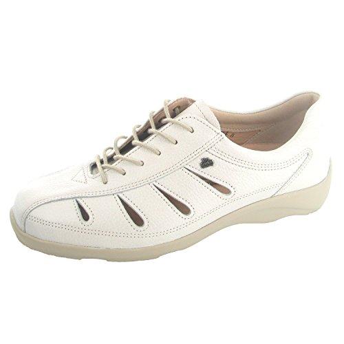 Finn Comfort - Zapatos de Cordones de cuero Mujer Beige