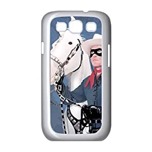 Lone ranger Image On The Samsung Galaxy s3 9300 White Cell Phone Case AMW898326
