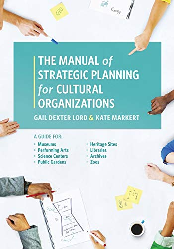 Pdf Social Sciences Manual of Strategic Planning for Cultural Organizations