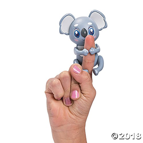 Fun Express Friendlies Mood Changing Mini Finger Puppet Pal Toy Waldo The Koala
