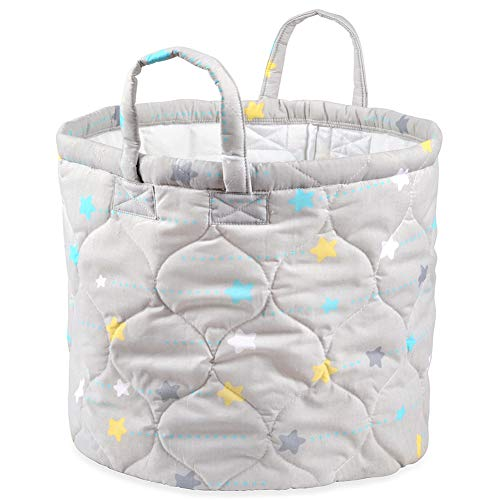 Blancho Bedding Foldable Dumbo Storage Bin Closet Toy Box Container Organizer Fabric Basket from Blancho Bedding