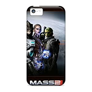 Hot Fashion NNoweBl975KakIF Design Case Cover For Iphone 5c Protective Case (mass Effect 2 Widescreen)