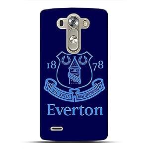 Unique Design FC Everton FC Team Logo Phone Case Cover For LG G4 3D Plastic Phone Case